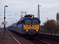 The V43 1025 at V�mosgy�rk