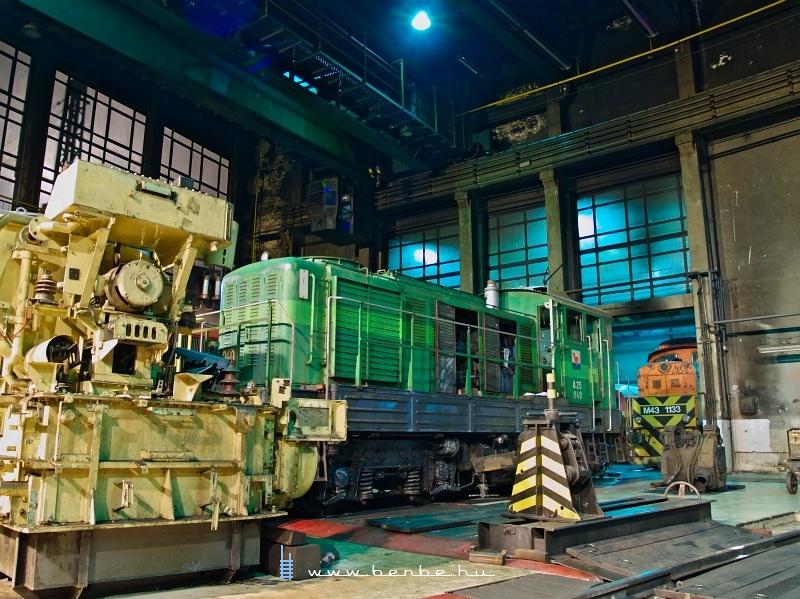 A MOL ipari A25 040-es Bobója a székesfehérvári fûtõházban fotó