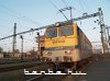 The V43 3242 under the bridge control tower at Sz�kesfeh�rv�r