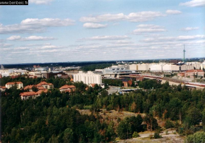 Kilátás az Olimpiai stadionból fotó