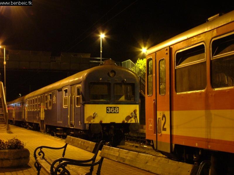 BDt 368 Komáromban fotó