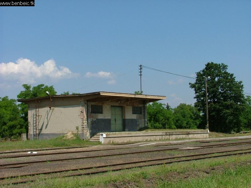 Ipolytarnóc állomás szabványos raktárja fotó