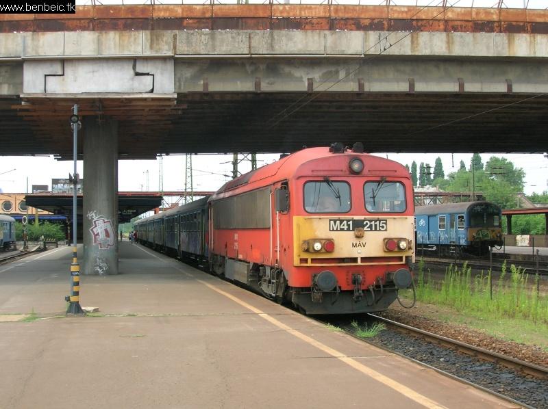 M41 2115 Kõbánya-Kispesten fotó