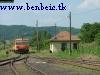 Bzmot 283 Nógrádszakál állomásról Ipolytarnóc felé húz