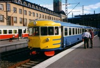 The Dm7 4211 at Helsinki central railway station