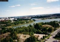 Kilátás az Olimpiai stadionból