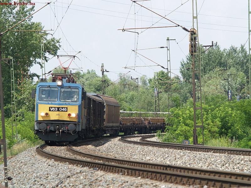 V63 046 Tatabánya elõtt fotó