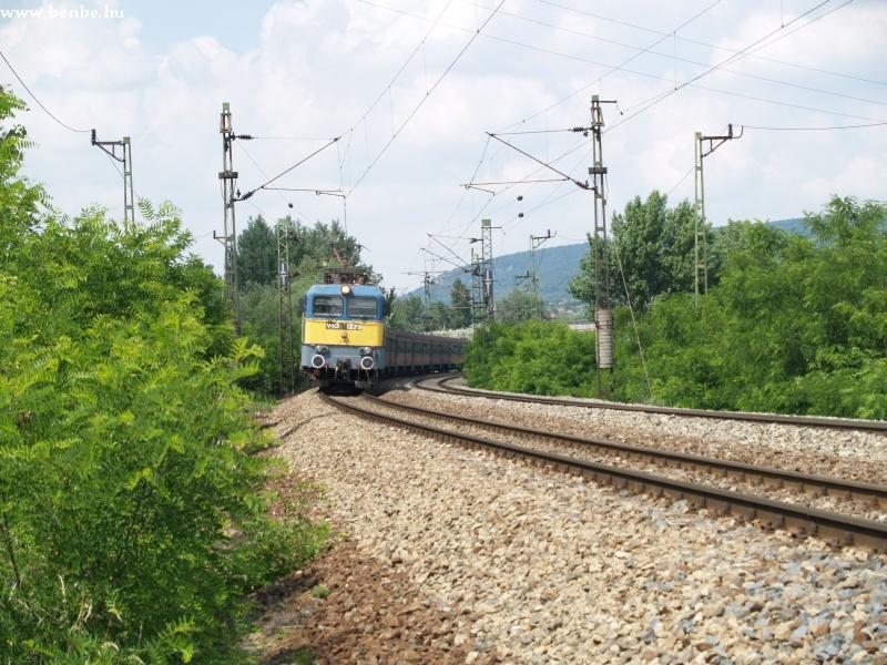 V43 1279 érkezik a hegyeshalmi gyorssal Tatabányára fotó