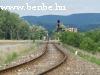 Vonatkereszt Esztergom-Kertvárosban