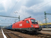The 1116 015-7 at the D�li p�lyaudvar