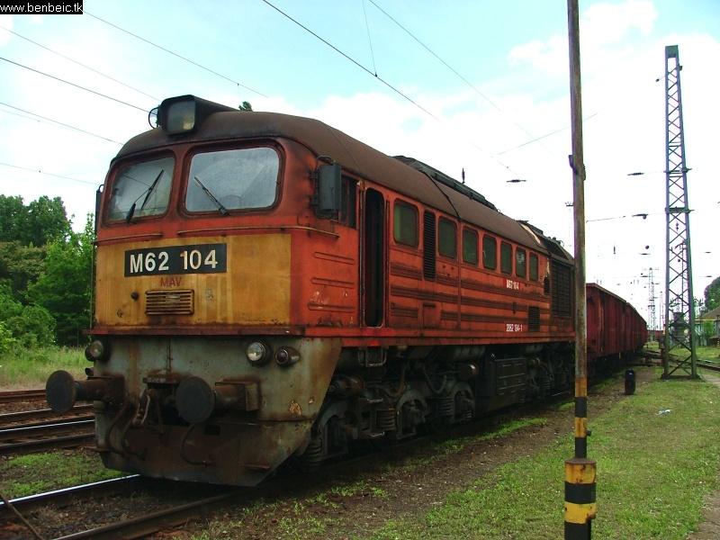 M62 104 Ferencvárosban fotó