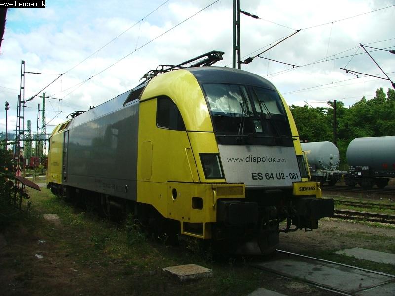 ES 64 U2 061 félreállítva fotó