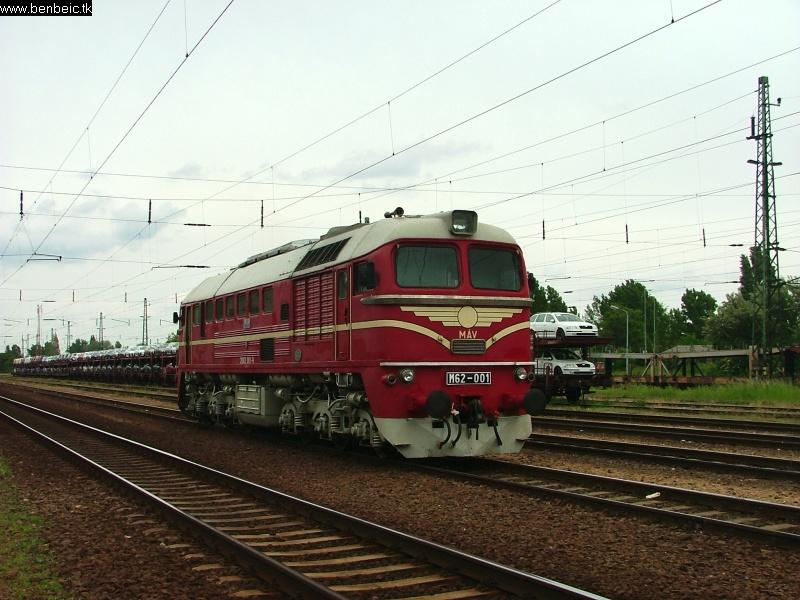 M62 001 Budaörsön fotó