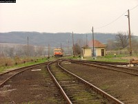 Bzmot 254 - the last train I saw coming from Ipolytarnóc
