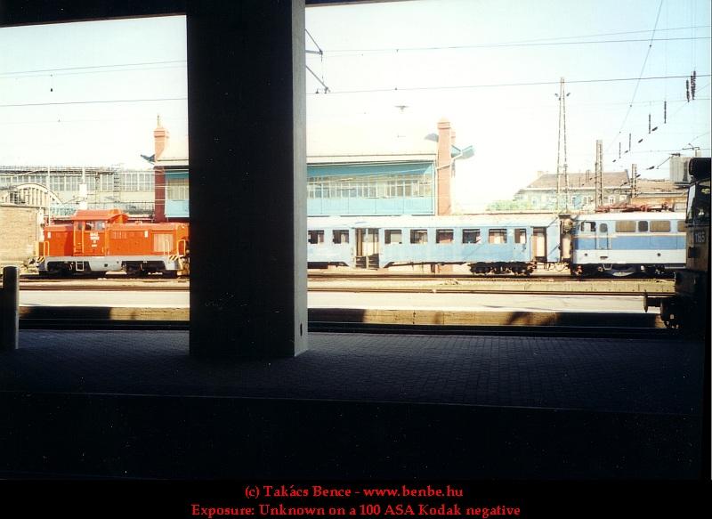 V43 1145 és M43 1082 a Nyugati pályaudvaron fotó
