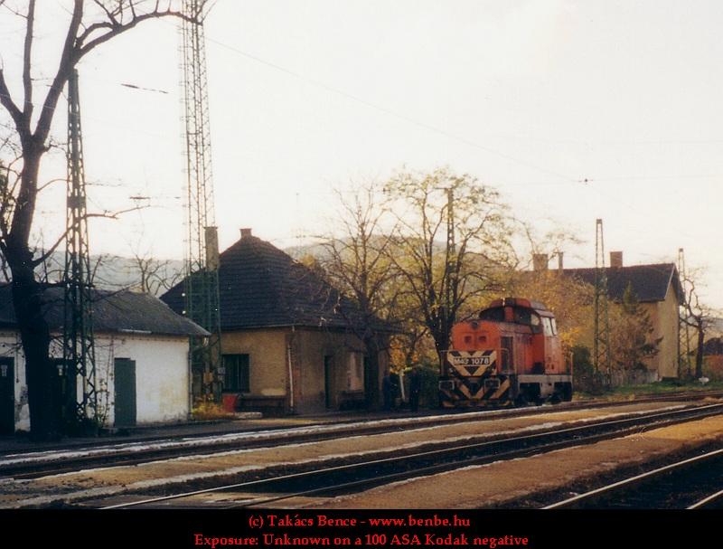 M43 1078 Óbuda állomáson fotó