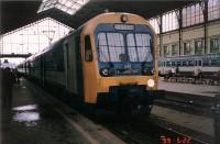 BVhmot 200 a Nyugati pályaudvaron