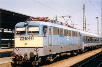 The V43 1032 at the Keleti p�lyaudvar