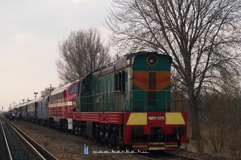 A Kárpátalja-expressz Mezőkaszony állomáson fotó