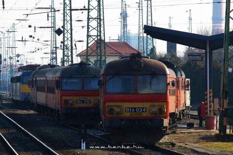 Btx 024 és 019 Debrecenben fotó