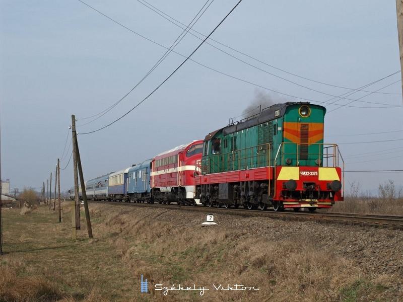 CsME3-3375 és M61 001 Tiszaújlakon fotó