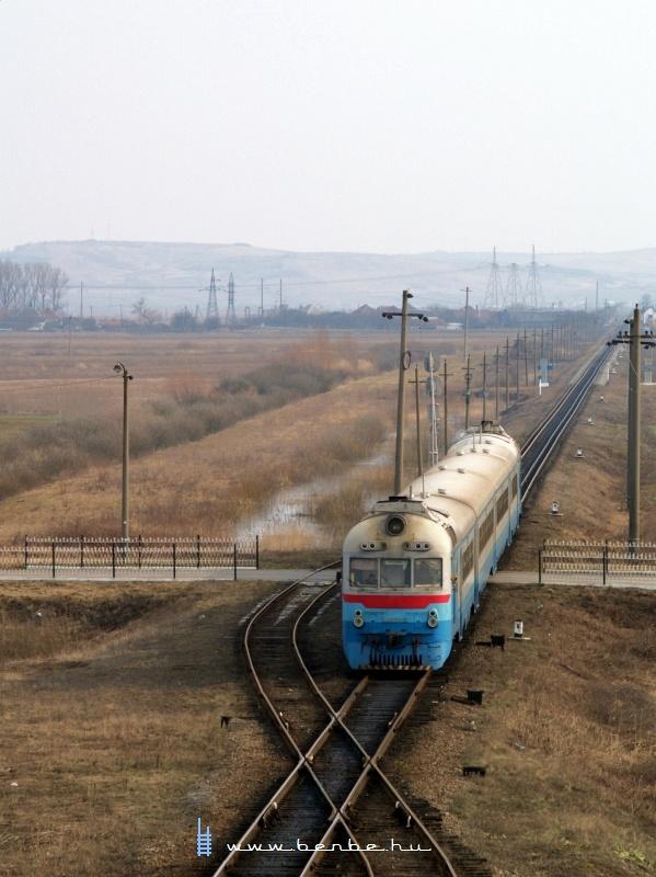 D1 632-3 Bótrágy megállóhely (З.П. БАТРАДЬ) és Bátyú személypályaudvar (БАТЬОВО-ПАС.) között fotó