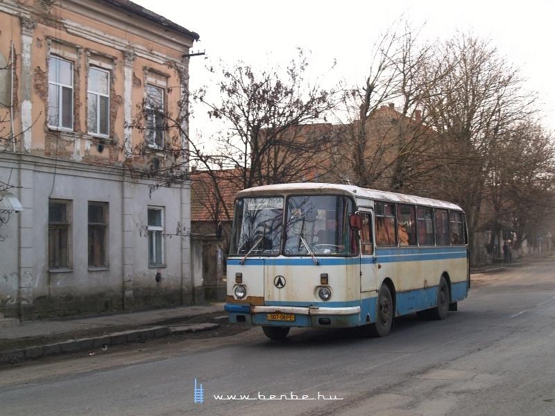 Busz Beregszászon fotó