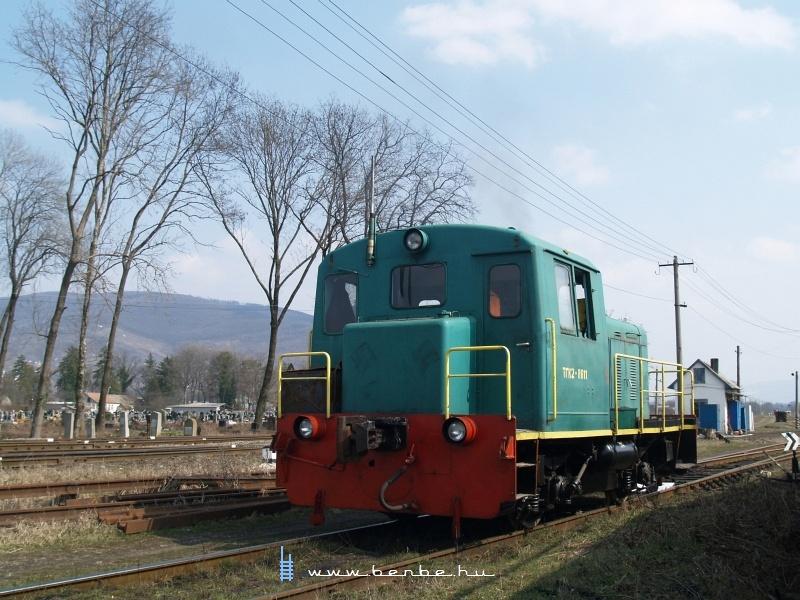 TGK2-8611 Nagyszőlősön fotó
