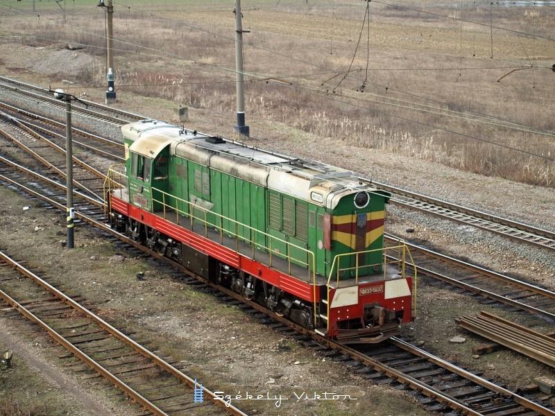 CsME3-5637 tolat Bátyú rendezőpályaudvaron fotó
