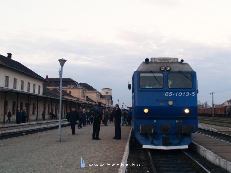 65-1013-5 Szatmárnémeti/Satu Mare állomáson fotó