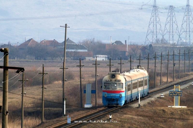 D1 632-3 Bátyú személypályaudvar (БАТЬОВО-ПАС.) és Bótrágy megállóhely (З.П. БАТРАДЬ) között fotó