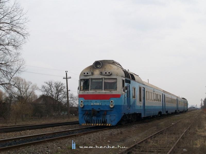 D1 769-1 Mezőkaszony (Косини) állomáson fotó