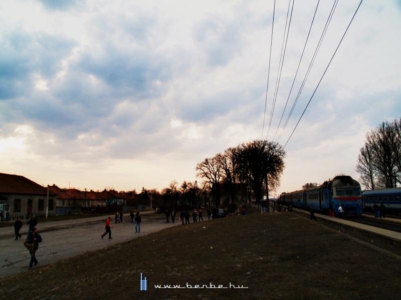 D1 769-3 Mezőkaszony (Косини) állomáson fotó