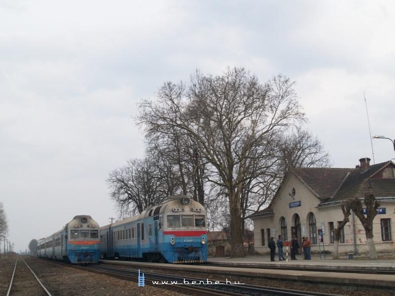 D1 769-1 és D1 585-3 Mezőkaszony (Косини) állomáson fotó