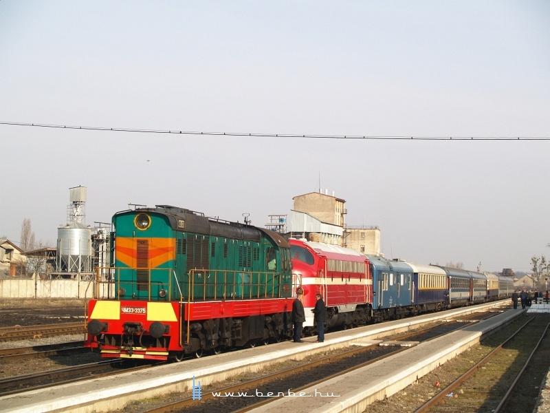 A Kárpátalja-expressz Bereszászon fotó