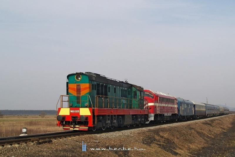 CsME3-3375 és M61 001 Csetfalvánál (Четово) fotó