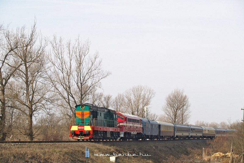 CsME3-3375 és M61 001 Tiszaújlaknál (Вилок) fotó