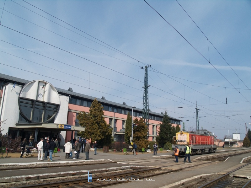 M40 303 Záhonyban fotó