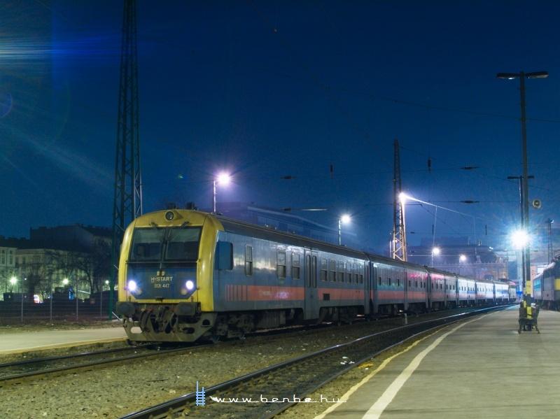 BDt 447 a Nyugati pályaudvaron fotó