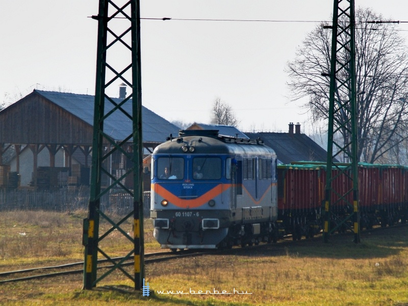 A Rolling Stock 60 1107-6 p�lyasz�m� Sulzere Hajd�hadh�zon fot�