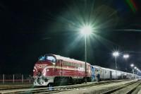 A K�rp�talja-expressz M61 001-gyel az �l�n Ny�r�br�nyban