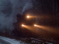 A Mátravasút 490 2005 Őrlőmű állomáson