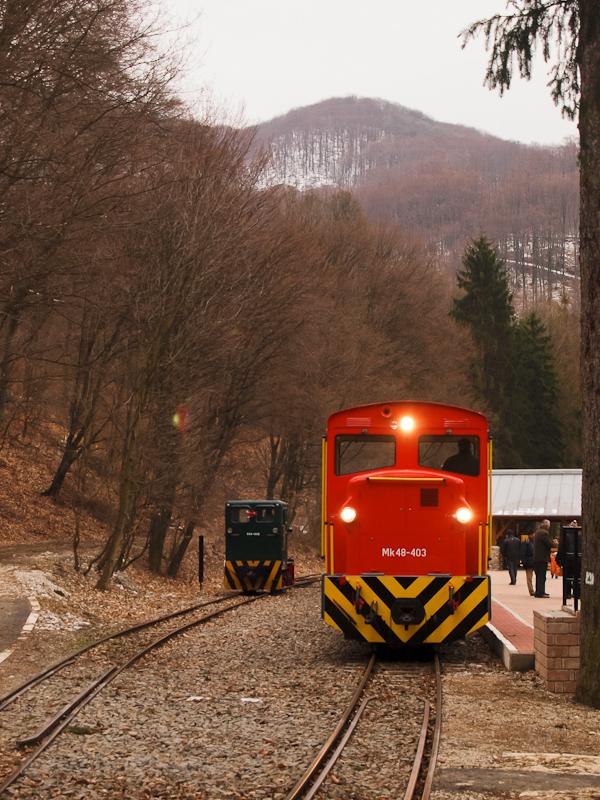 A D04-602 és az Mk48-403 Szalajka-Fáytolvízesés állomáson fotó
