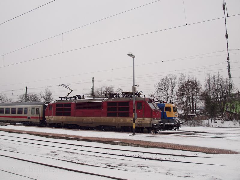 A ŽSSK 350 016-2 pálya fotó