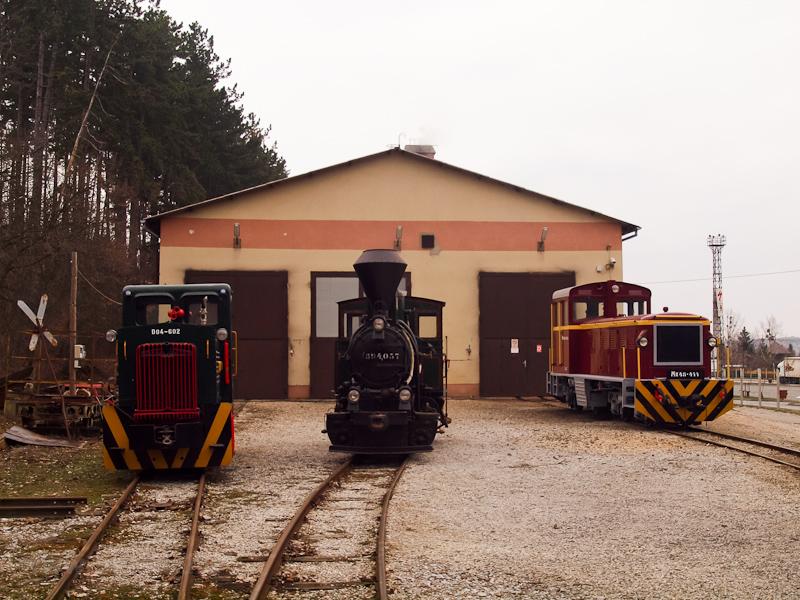 A D04-602, 394,057 és az Mk48-411 Szilvásváradon fotó