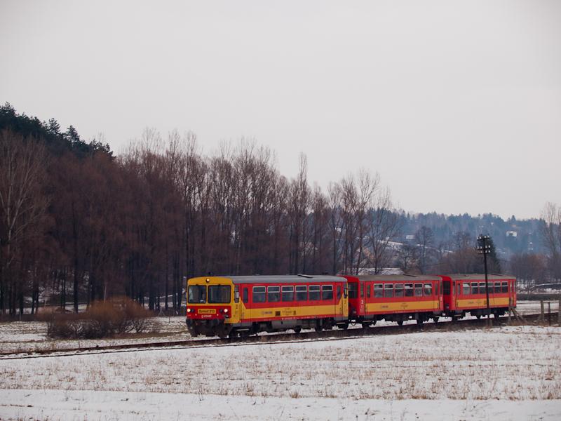 A Bzmot 313 Nógrád és Diósjenő között fotó