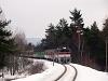 A ŽSSK 754 071-9 személyvonattal a 171-es vonalon Jastrabá megállóhelyen