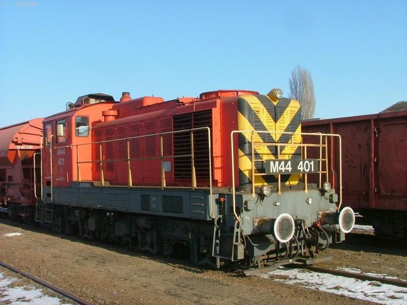 M44 401 Kispesten fotó
