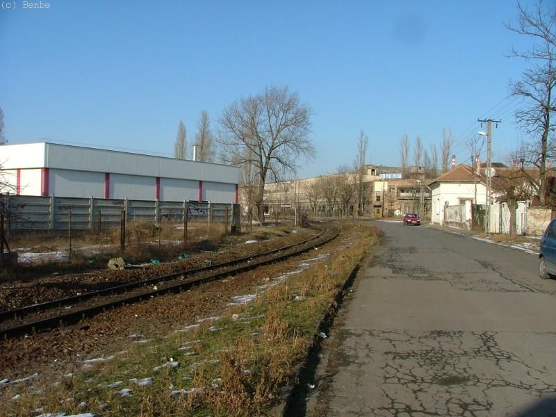 A pálya Kispest és KÖKI között fotó