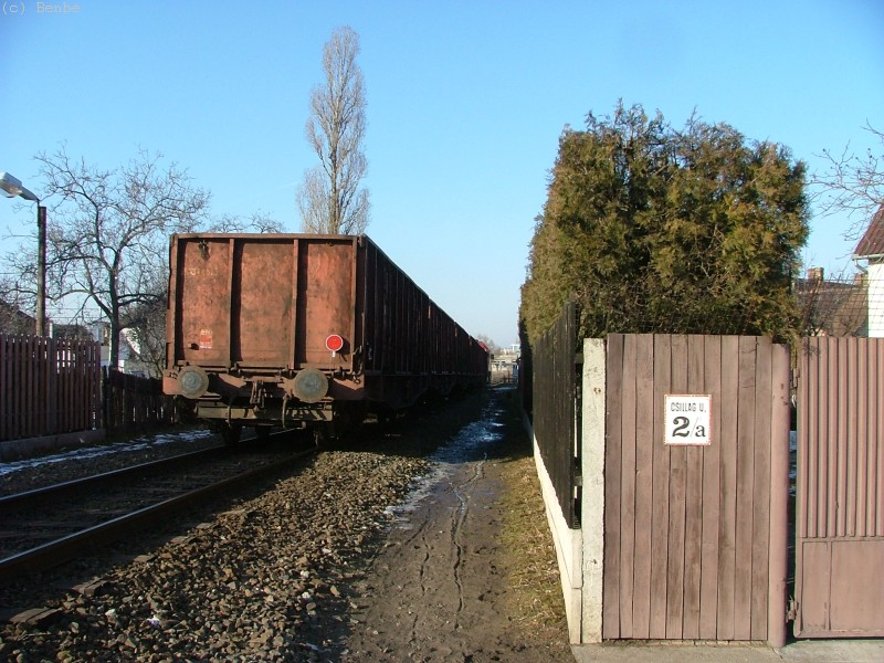 M62 265 vontatta tehervonat jár be KÖKI-re fotó